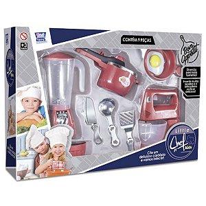 Kit de Cozinha Little Chef Kids Zuca Toys