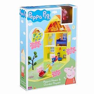 Casinha Peppa Pig com Jardim Dtc