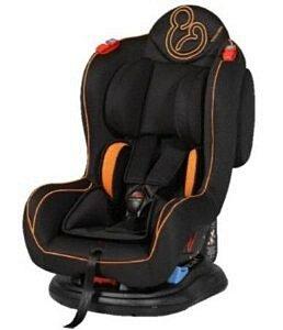Cadeira Galzerano Transbaby II - preto e laranja