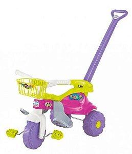 Triciclo Magic Toys tico tico - festa rosa