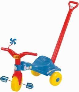 Triciclo Magic Toys tico tico popó - azul
