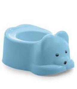 Troninho Adoleta peniquinho urso - azul
