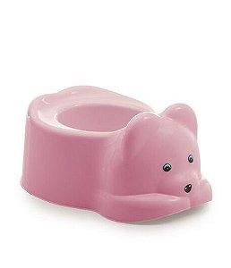 Troninho Adoleta peniquinho urso - rosa