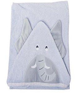 Toalha de banho Minasrey Carinhas felpa - elefante