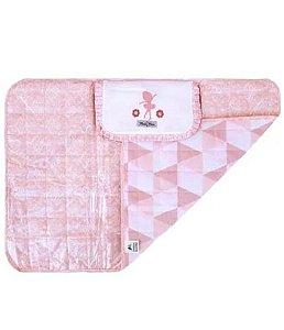 Trocador de fraldas Minasrey portátil - rosa