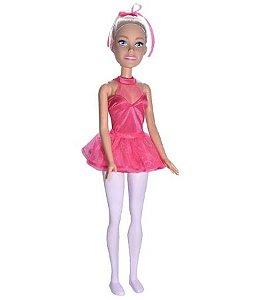 Boneca Barbie Pupee profissões Bailarina 67 cm - loira