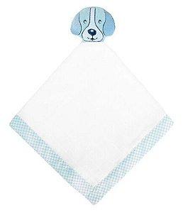 Naninha Minasrey Carinhas cachorrinho - azul