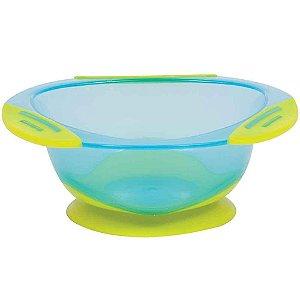 Prato Buba Bowl com ventosa - azul