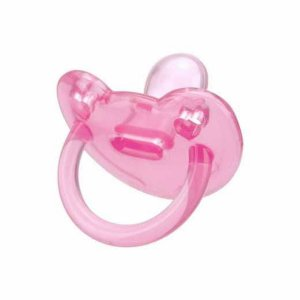 Chupeta Kuka silicone Soft maiores 6 meses - rosa