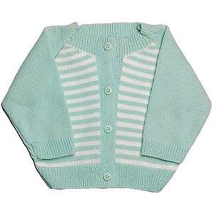 Casaco Tamine Baby Chevron - verde