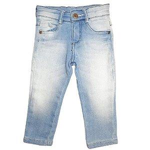 Calça Baby Gijo com Lycra - jeans
