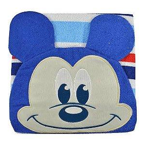 Toalha de banho Minasrey Mickey - azul