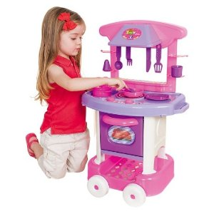 Cozinha Cotiplás Play Time - rosa