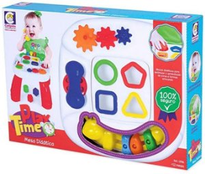 Mesa Didática Cotiplás Play Time - divertida