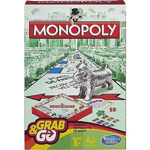 Jogo Hasbro Grab e Go Monopoly