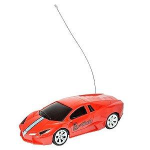 Carro Dm Toys de Controle Remoto sem fio - vermelho