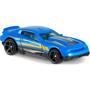 Carro Hot Wheels Mattel muscle mania  - azul