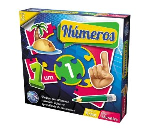 Jogo Pais e Filhos Números 30 peças