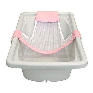 Rede de Proteção Bibitchan para banho - rosa