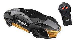 Carro Candide de Controle Remoto Sombra Negra - Batman