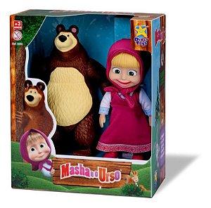 Bonecos Diver Toys em vinil - Masha e o Urso