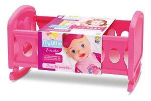 Bercinho Diver Toys para boneca - rosa