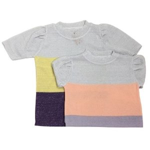 Blusa Michele Modas Lurex princesa - cores variadas