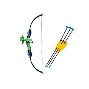 Arco e flecha Unik Hora da disputa verde- BR7800
