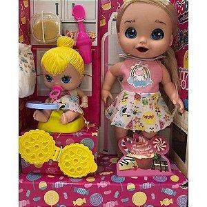 Boneca papinha sapeca super toys babys collection papinha