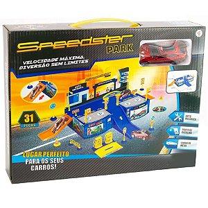 Speedster park  Polibrinq  Pista de brinquedo colorida