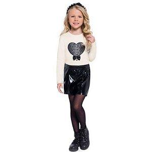 Conjunto Blusa Cotton Short feminino Mundi