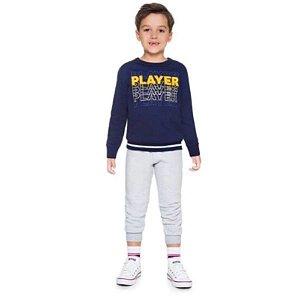 Conjunto Blusão Calça Jogger Masculino Brandili