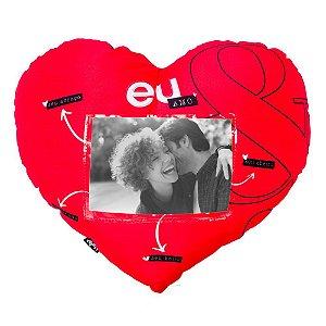 Almofada Coração com foto