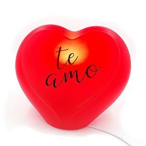 Luminária Coração Te amo