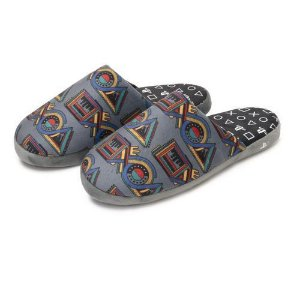Pantufa Chinelo Playstation Cinza