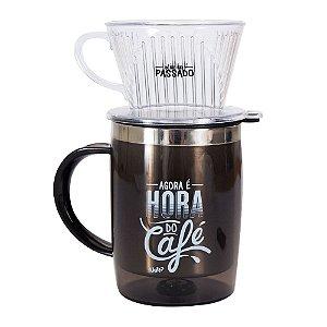 Caneca com Filtro Hora do Café