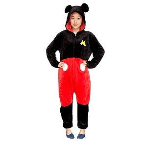 Macacão Kigurumi Mickey Mouse - Disney
