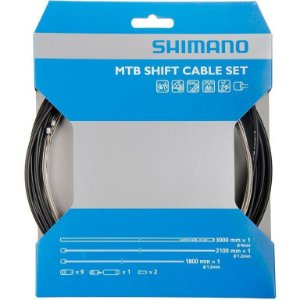 Conjunto de Cabo e Conduite Shimano MTB