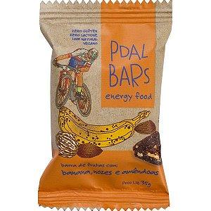 Barra de Frutas PdalBars - Banana, Nozes e Amêndoas