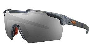 Óculos HB Shield Matte Onix - Silver
