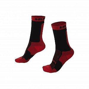 Meia Hupi Red / Black