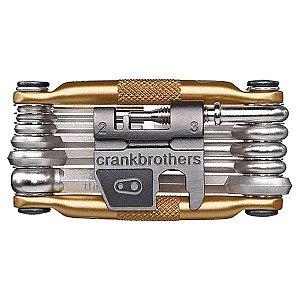Jogo de Ferramentas Crank Brothers 19 - Dourado