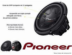 Sub Pioneer 311 d4 cara preta bobina dupla