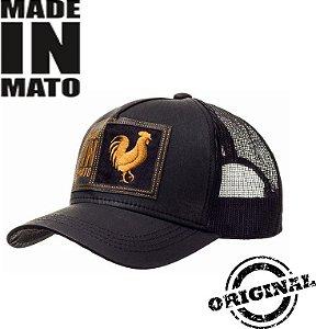 Boné Made In Mato Gold Rooster 100% Original Boné Dos Artistas