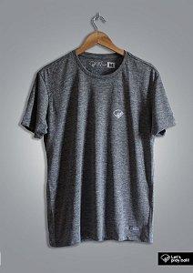 Camiseta Infield Mescla Cinza