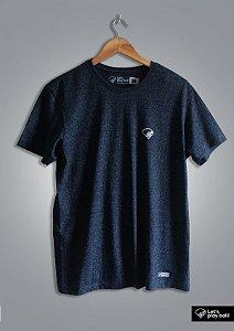 Camiseta Infield Mescla Cinza Azul