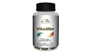 """VitaMin """"polivitaminico e mineral A a Z"""" 30caps 1000mg"""