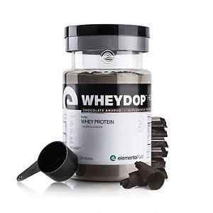 WHEYDOP HIDRO CHOCOLATE AMARGO - 900G