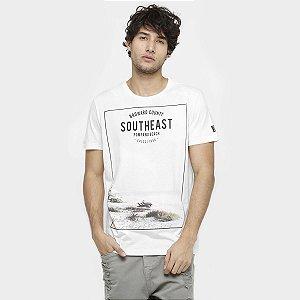 Camiseta Colcci Masculina SouthEast Praia