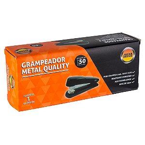 Grampeador Metal e Aço Inox  Quality Para 50 folhas